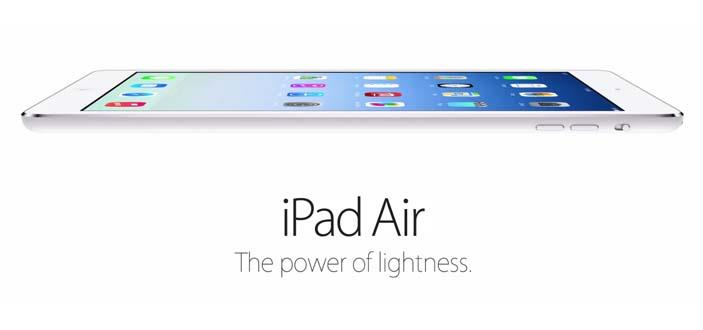 Apple announces the release of the iPad Air and the iPad Mini 2