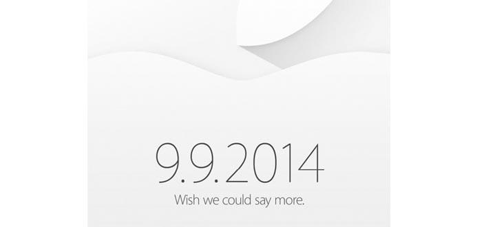Apple invites sent - September 9th event unveiled