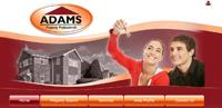 New website design Adams Estate Agent in the Ealing