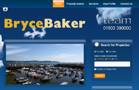 New website design for Bryce Baker Estate and Letting Agents in Paignton