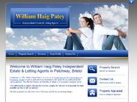 New website design for William Haig Patey Estate and letting Agent in Patchway