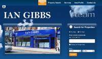 New website design for Ian Gibbs Chartered Surveyors and Estate Agents in Enfield
