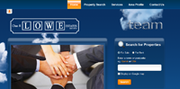 New Estate and Letting Agent website for Chas Lowe