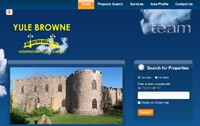 New website design for Yule Browne Estate Agents in Taunton