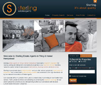 New website design for Sterling Estate Agents in the Tring and Hemel Hempstead