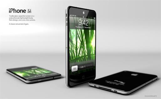 The iPhone SJ: the beautiful mock-up inspired by Steve Jobs