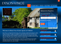 Dixon Vince Estate Agent in Uckfield has a new website