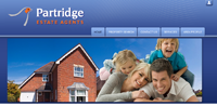 New website design for Partridge Estate Agents in Exeter