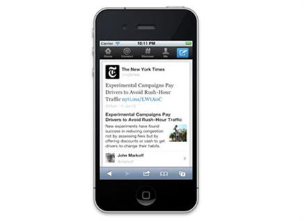 Twitter expanded tweets - now with more interactivity