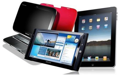 Consumers favour tablets over laptops for Christmas 2011?