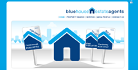 New Estate Agent website for Blue house Estate Agents in Camberley