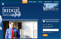 Ridge Estate Agents in Wickford, Essex has a new website