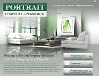 New website design for Portrait Property Specialists in Plymouth