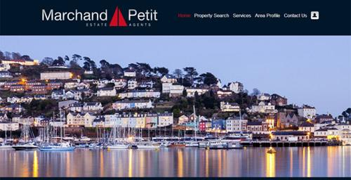 New web design for Marchand Petit