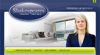 New website design for Shakespeares Estate Agents covering Solihull, Shirley & Hall Green