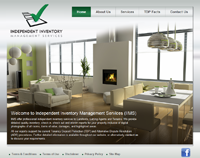 New website design for Independent Inventory Management Services
