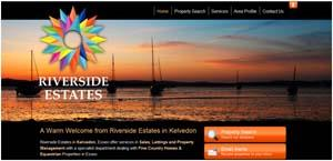 A Unique and iconic New Website for Riverside Estates