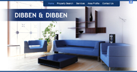 New Estate Agent website for Dibben and Dibben Estate & Letting Agent in Fareham