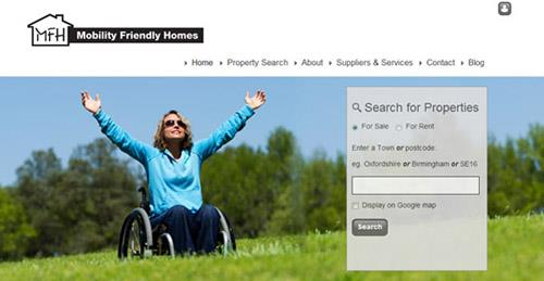 We are pleased to announce the new re-designed website for Mobility Friendly Homes