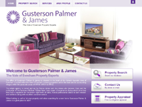 New website design for Gusterson Palmer & James