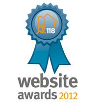Another Property118.com Website Award 2012