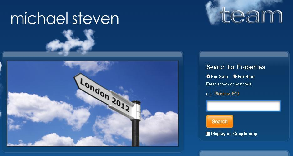 New website design for Michael Steven Estate Agent in Plaistow, Newham