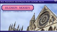 Website design for Hudson Moody Estate Agents in York and Leeds