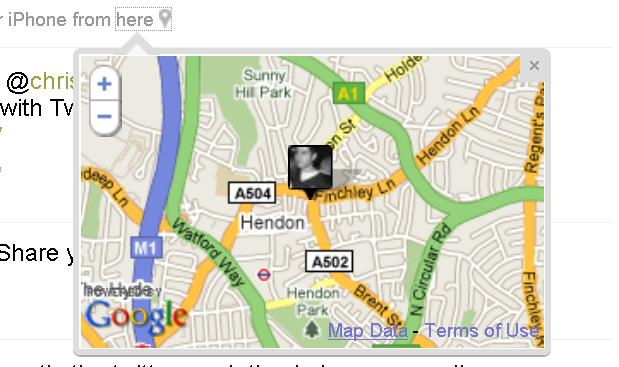 Twitter for Estate Agents - Geolocation
