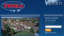 New website design for Fisks Estate Agents in Wimborne, Dorset