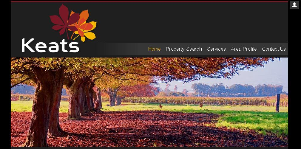 New website design for Keats Estate Agent in Hampshire and Surrey