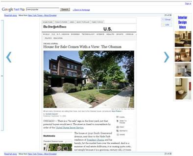 Estate agents that love Google News will love this!