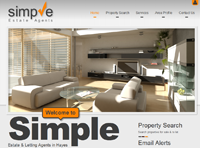Simple Estate & Letting Agent in Hayes have a new website design